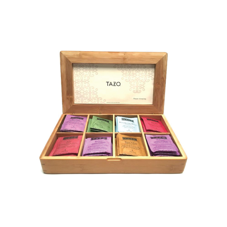 Bamboo box for Tazo